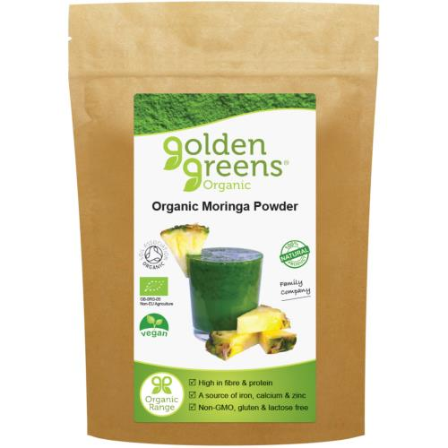 Organic Moringa Leaf Powder 100g