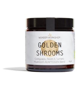 Wunder Workshop GOLDEN SHROOMS - Adaptogen x Medicinal Mushroom blend