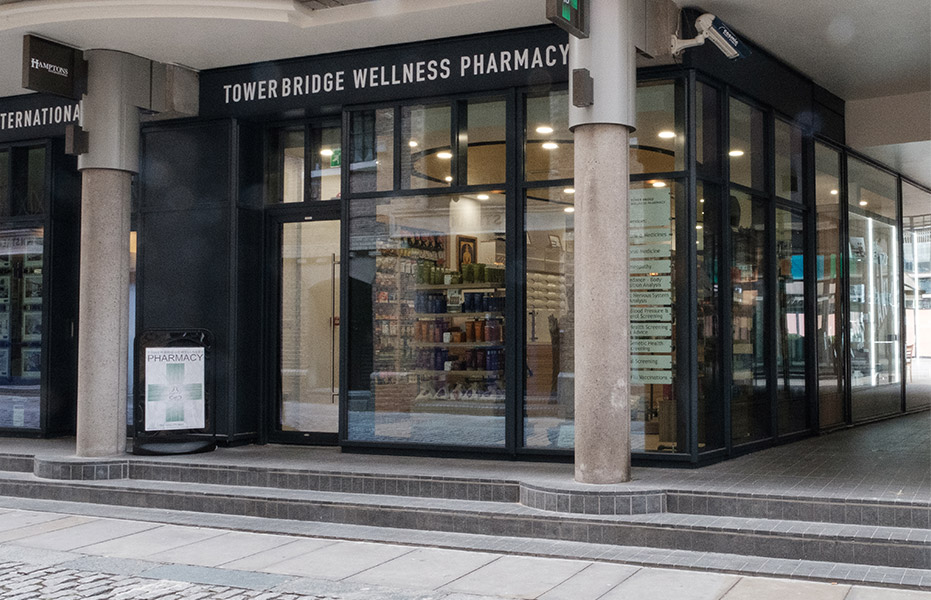 Tower Bridge Wellness Pharmacy, London
