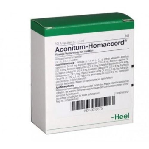 Heel Aconitum-Homaccord Injection solution