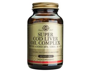 Solgar Super Cod Liver Oil Complex 60 Softgels