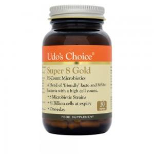 Udo's Choice Super 8 GOLD - 30 Veg Capsules