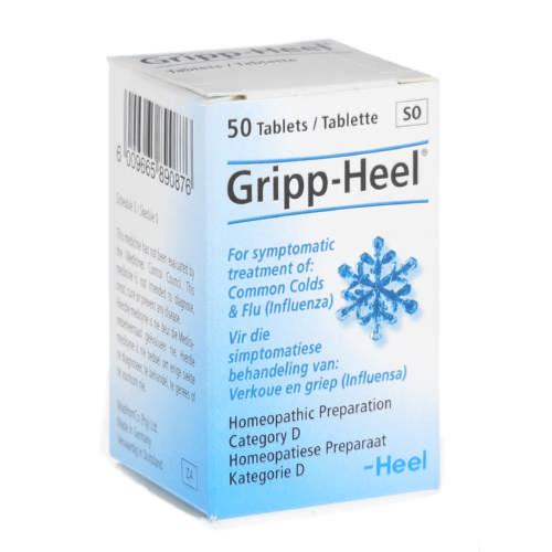Gripp-Heel 50 tablets