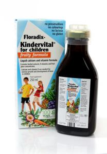 Floradix Kindervital Fruity Multivitamin Formula 250ml