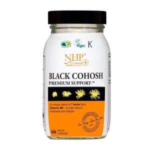 NHP Black Cohosh Nutrition Support 60 Capsules
