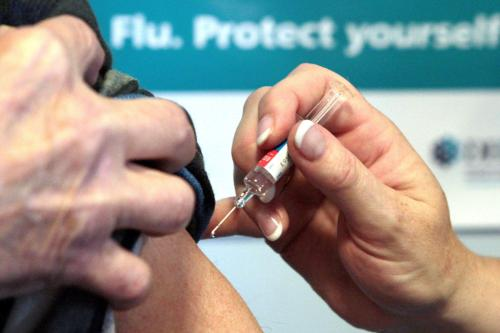 Influenza Vaccine + Consultation over 65 years age