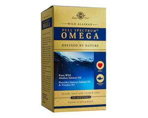 Solgar Wild Alaskan Full Spectrum™ Omega 120 Softgels