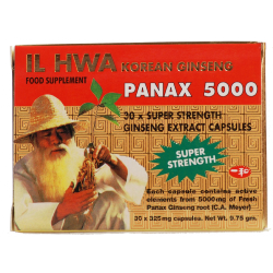 IL Hwa Panax 5000 Ginseng 30 Capsules
