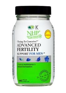 NHP Advanced Fertility Support For Men 90 Caps